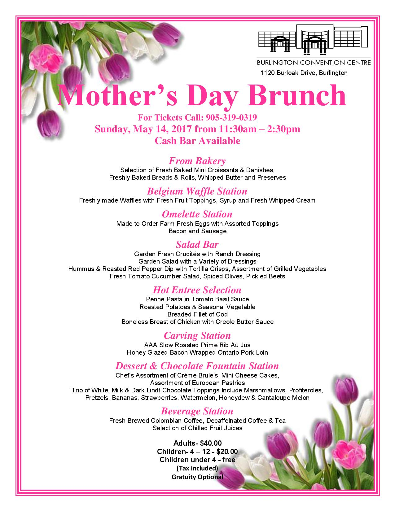 mothers day sunday brunch