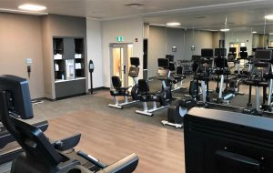 indoor gym hotel guest room suite burlington oakville wedding corporate
