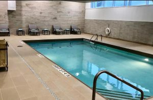 indoor pool hotel guest room suite burlington oakville wedding corporate